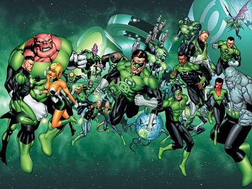 DC Green Lantern Corps 1