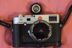 M 240 + Lomo Fisheye Finder + Olympus FE 16/3.5 & Takumar 18/11