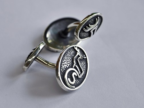 Caledonian Sleeper Cufflinks Macquette - 1
