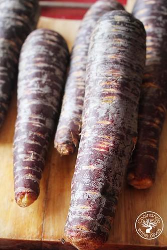 Crema de zanahoria morada www.cocinandoentreolivos.com (4)