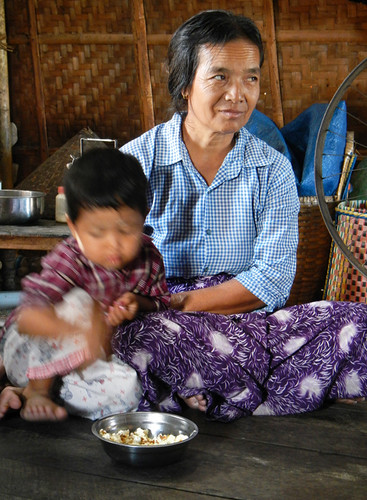 A Visit with a Family at the Inle Lake Dying Village