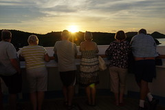 Watching the Sunset in Antigua