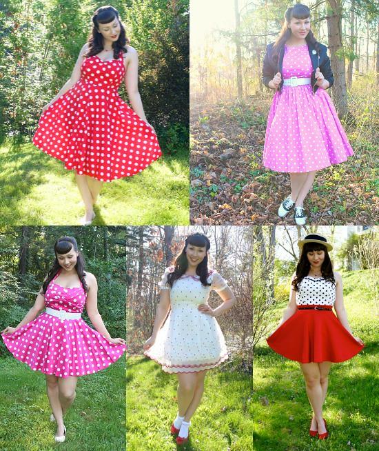 minnie mouse polka dot dress
