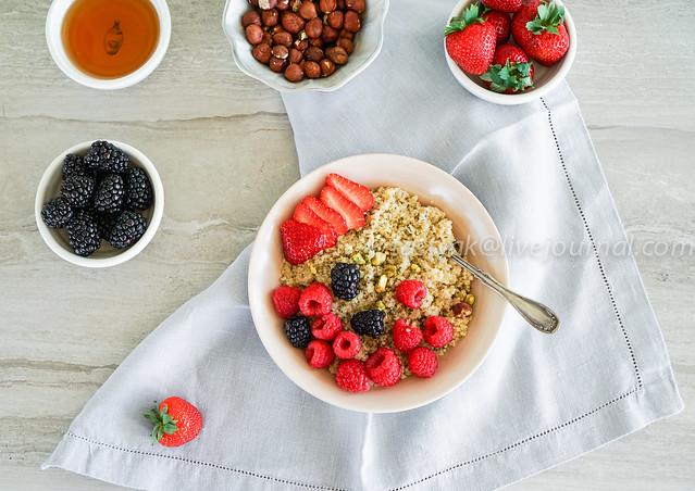 quinoa/breakfast/cleaneating