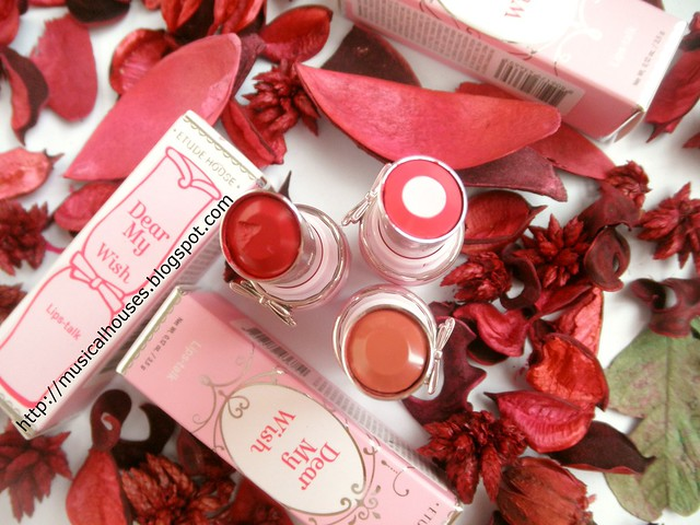 Etude House Dear My Dream Wish Talk Lipsticks 4