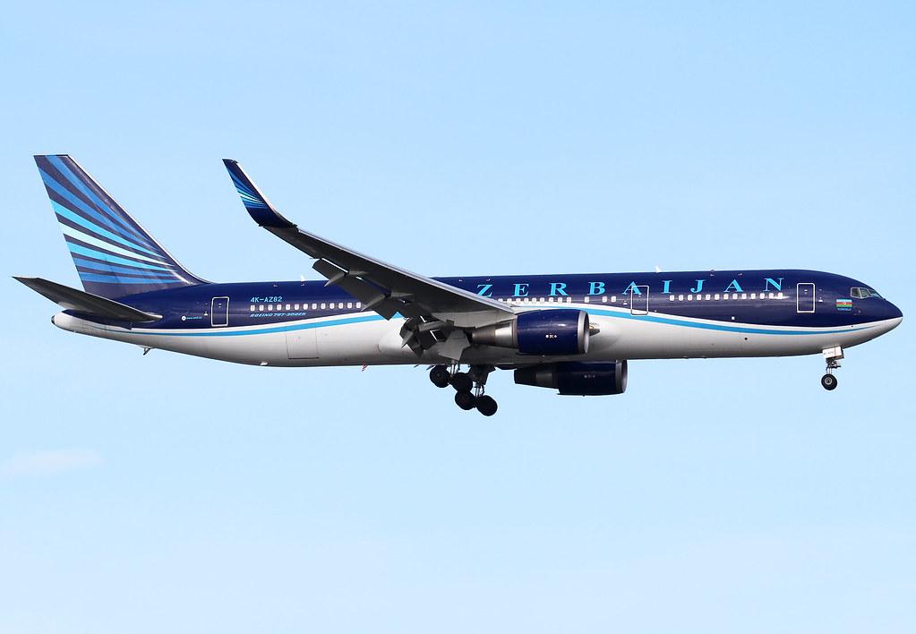 Short final for RWY05 inbound from Baku GYD. Delivered 06/2012.