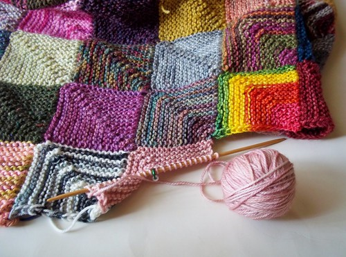The Blanket Goes On My Sisters Knitter