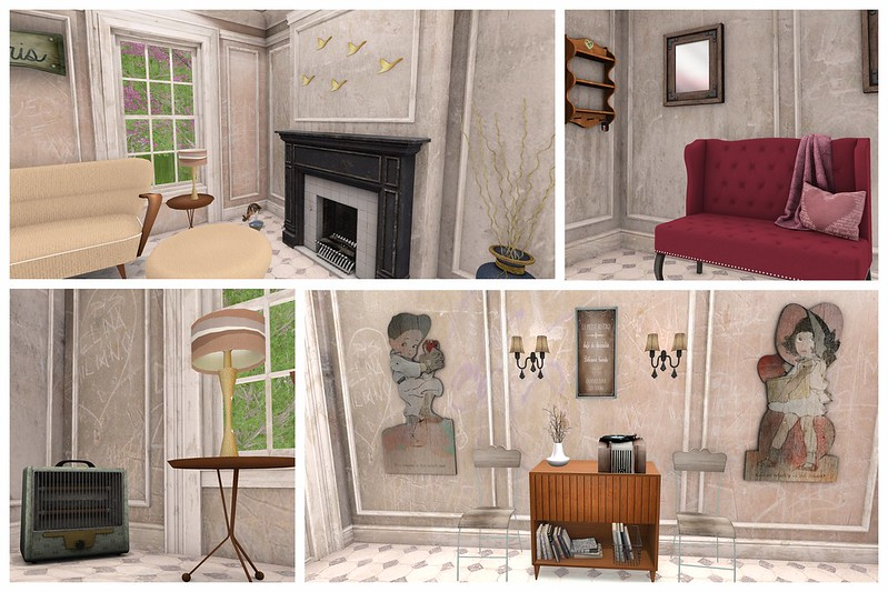 Lumae, Genre, Koketka, Ikon, Dura, LB, LaBoheme, La Boheme, irrie's dh, Irries, Doll House, WLTB, We Love to Blog, Livalle, joli, RealEvil, Real Evil, RE Industries, Yummy, SN, Something New, The Vanity Fair, TVF, Apple Fall, AF, Frogstar, Brixley, Oyasumi, Kustom 9, Kustom9, K9, Striped Mocha, Storax Tree, StoraxTree, 7, 7 Emporium, Seven Emporium, Serenity Style, Gacha Mania, TGM, The GachaMania, Hideki, Floorplan, Second Life, Momma's Style, JenJen Sommerfleck