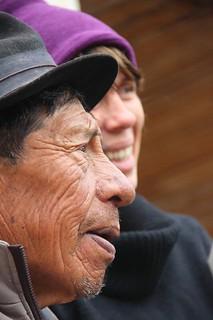 Don Julio es el participante más anciano del grupo: tiene 93 años!