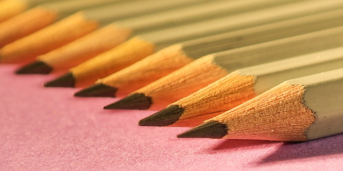 Get in Close- Pencil Points