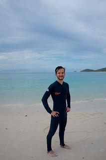 Imagem de Whitehaven Beach. queensland hamiltonisland australie