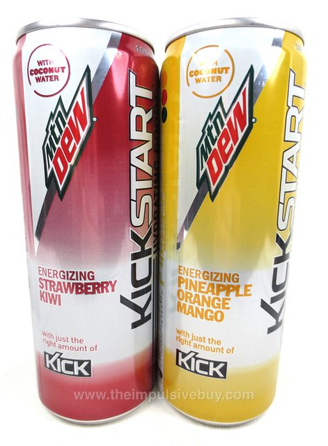 Mountain Dew Kickstart Hydrating Boost