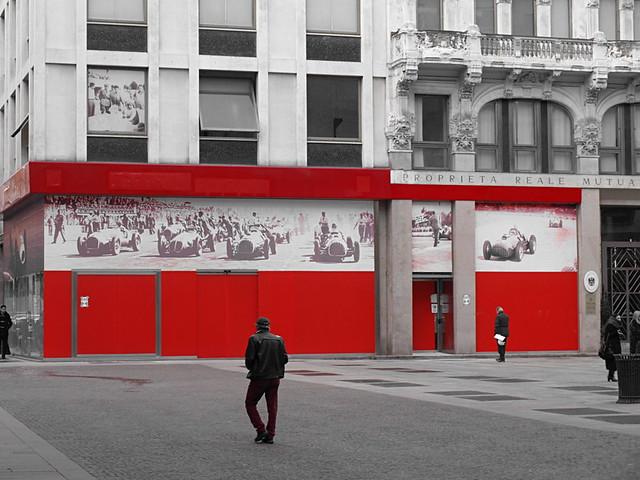 Ferrari shop, Milan