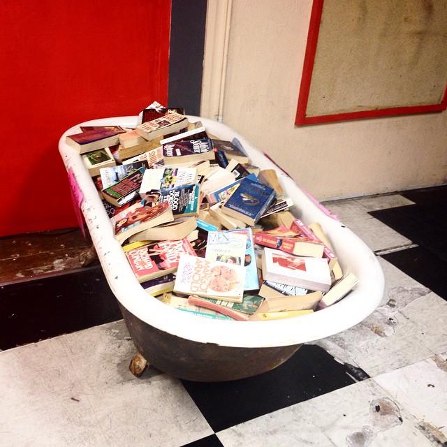 Dan Hogman - Literature by the tub. San Francisco love.
