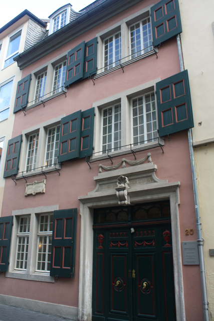 Beethoven's birthplace in Bonn, Germany