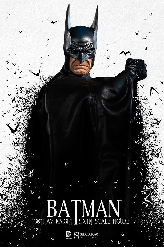 Sideshow Collectibles【蝙蝠俠:高譚騎士】Batman: Gotham Knight 1/6 比例 蝙蝠俠