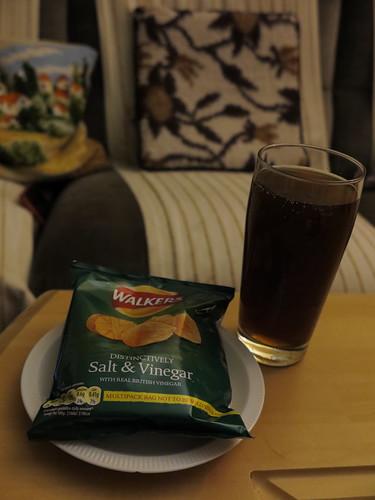 Coca Cola und Fanta Mix zu Walkers Salt & Vinegar
