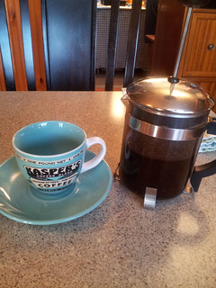 French press in Hilo