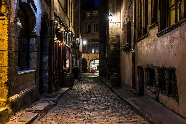 Lyon, vers Gadagne
