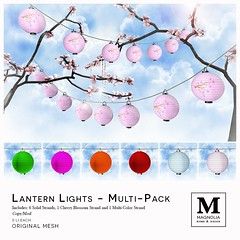Lantern Lights Multi-Pack for ORIGAMI