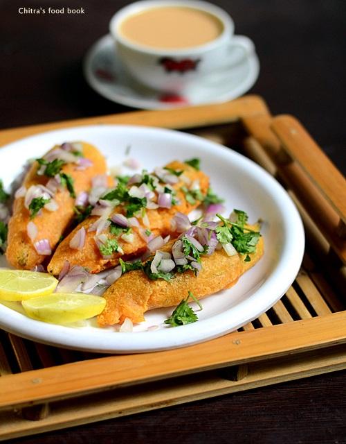 Stuffed chilli bajji recipe