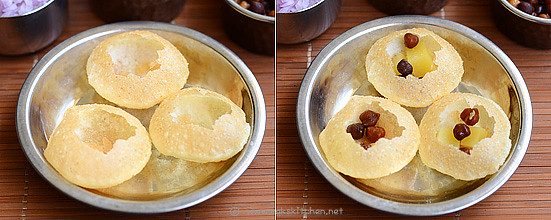 How to make pani puri step 4