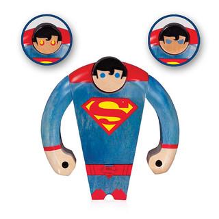 DC Collectibles【木製超人公仔】Superman Wood Figure