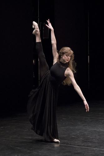 Camille Bracher in action.