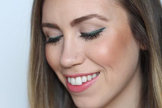 Green Cat Eye | Makeup Monday | #LivingAfterMidnite