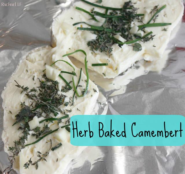 Herb Baked Camembert