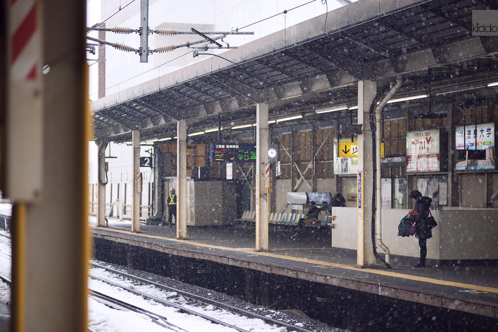 Shinsapporo Station