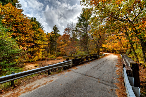 Ram Tail Road Bridge by Frank Grace, via I {heart} Rhody