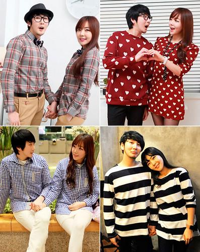 moda casal coreia