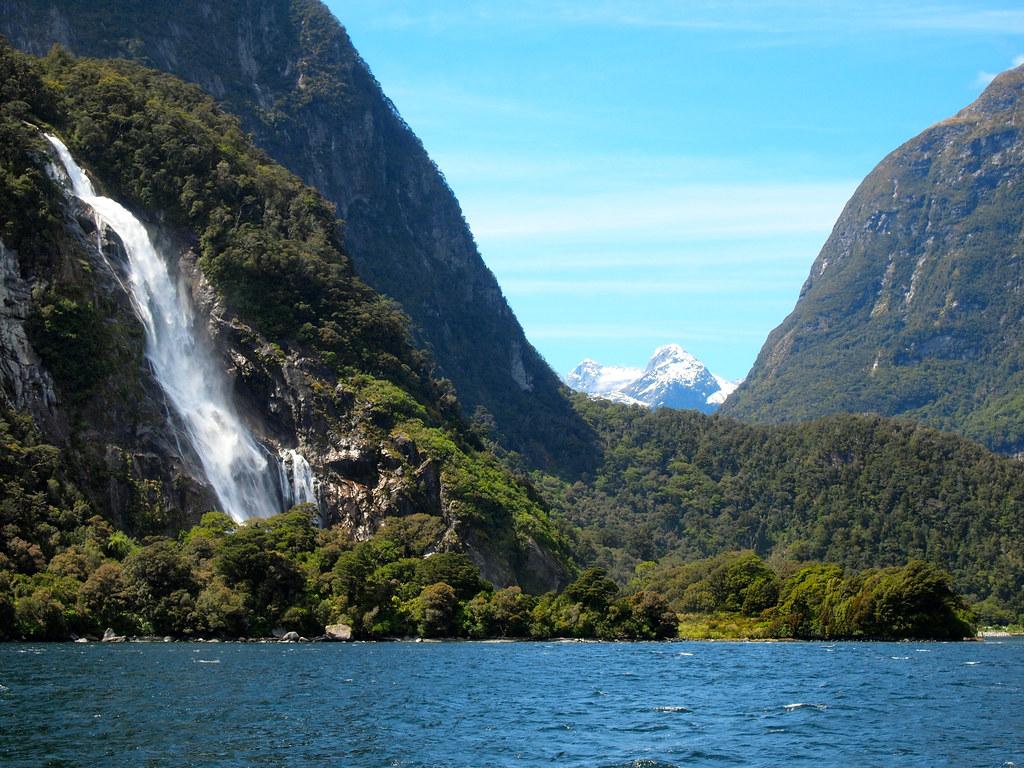 Bowen Falls at Milford Sound