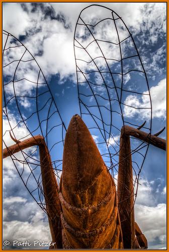 california sculpture metal rust unitedstates borregosprings galletameadows