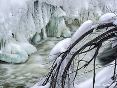 Ice, Snow and River Rapids
