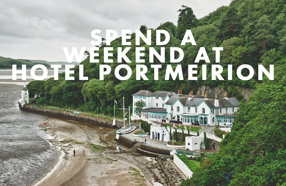 Hotel Portmeirion, North Wales