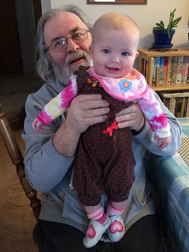 Papa & Josie Joy