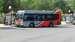 WMATA Metrobus 2012 Orion VII 3G Diesel #3037