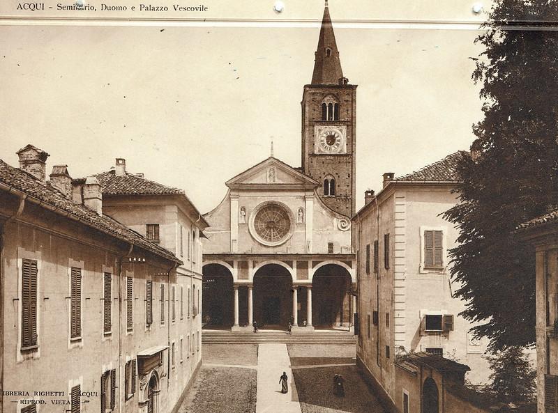 Seminario, Duomo e Palazzo Vescoville, Acqui Terme, Italy