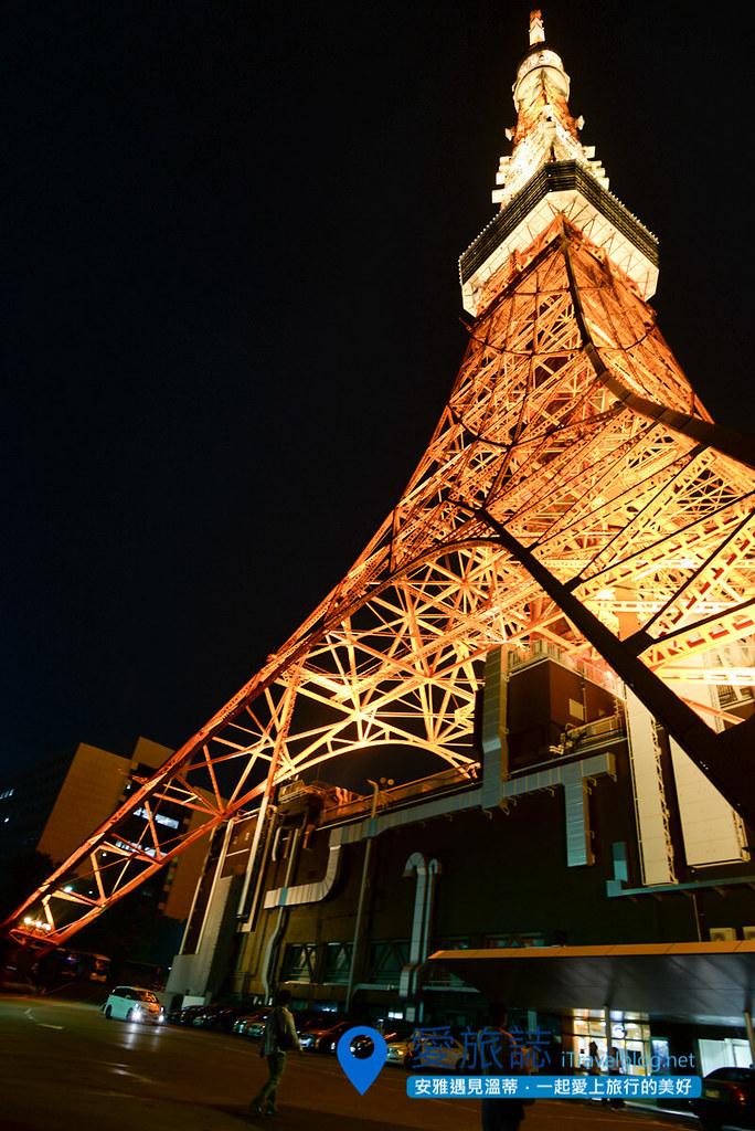《东京景点推荐》东京铁塔 Tokyo Tower:东京经典夜景,同场加映高空惊魂健行记。