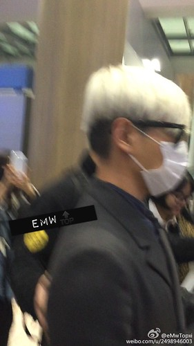 Big Bang - Incheon Airport - 31jan2015 - TOP - eMwTopxi - 03