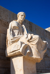 Afbeelding van Dionysustheater. 2016 acropolis athens dionysus greece lightroom menander statue theatre theatreofdionysos athina attica