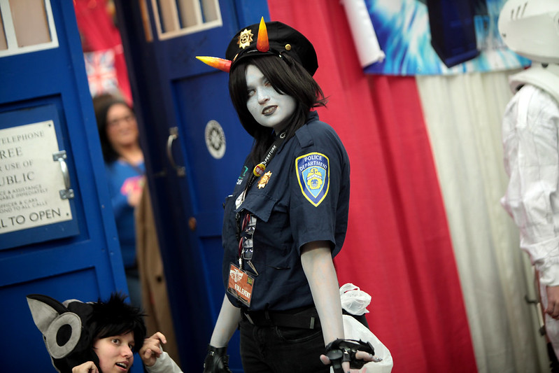 Troll Cops cosplayer
