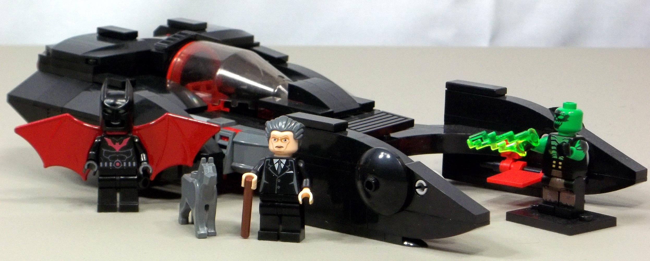 Batman Beyond Lego Sets Custom LEGO Batman Bey...