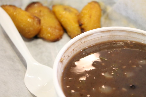 Plantains and Black Bean Soup