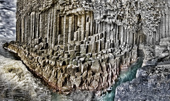 Fingals cave Panorama