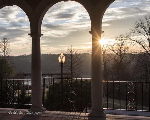 winter sunset cold warm afternoon cincinnati january pavilion almspark cincinnatiparks 20150117januaryafternoon