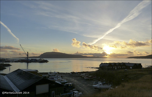 sunrise faroeislands faroes tórshavn føroyar nólsoy sólarris maritagulklett panasoniclumixfz150