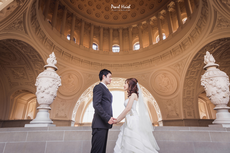 San Francisco City Hall Prewedding
